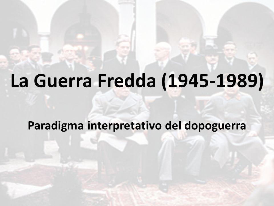 Paradigma interpretativo del dopoguerra