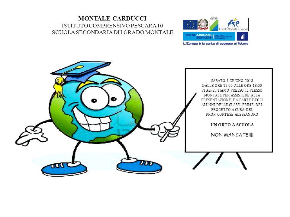 MONTALE-CARDUCCI ISTITUTO COMPRENSIVO PESCARA 10
