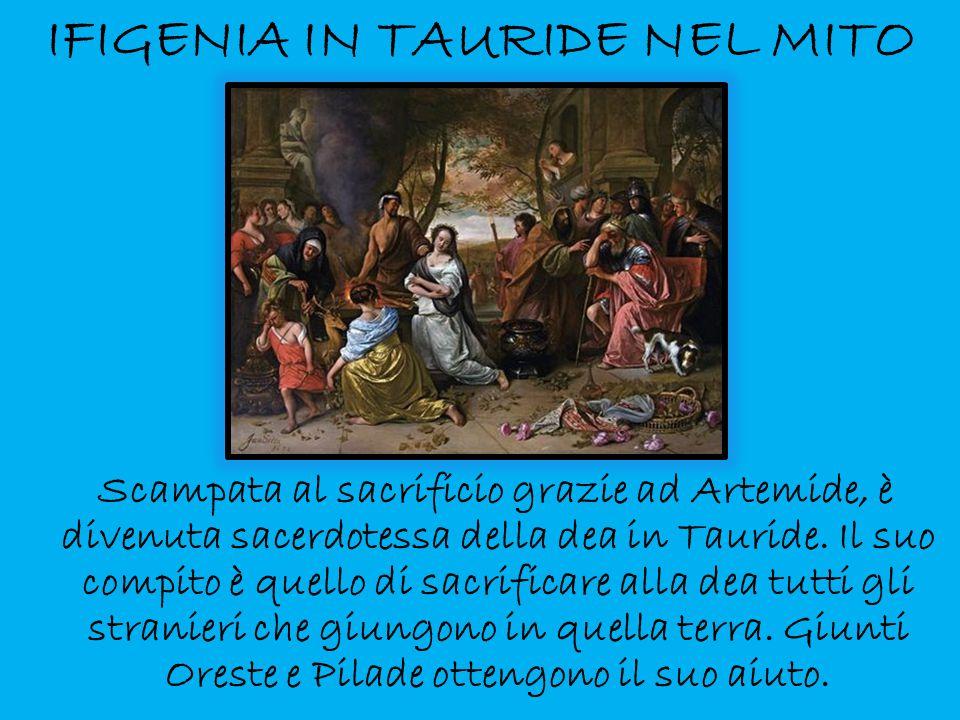 IFIGENIA IN TAURIDE NEL MITO