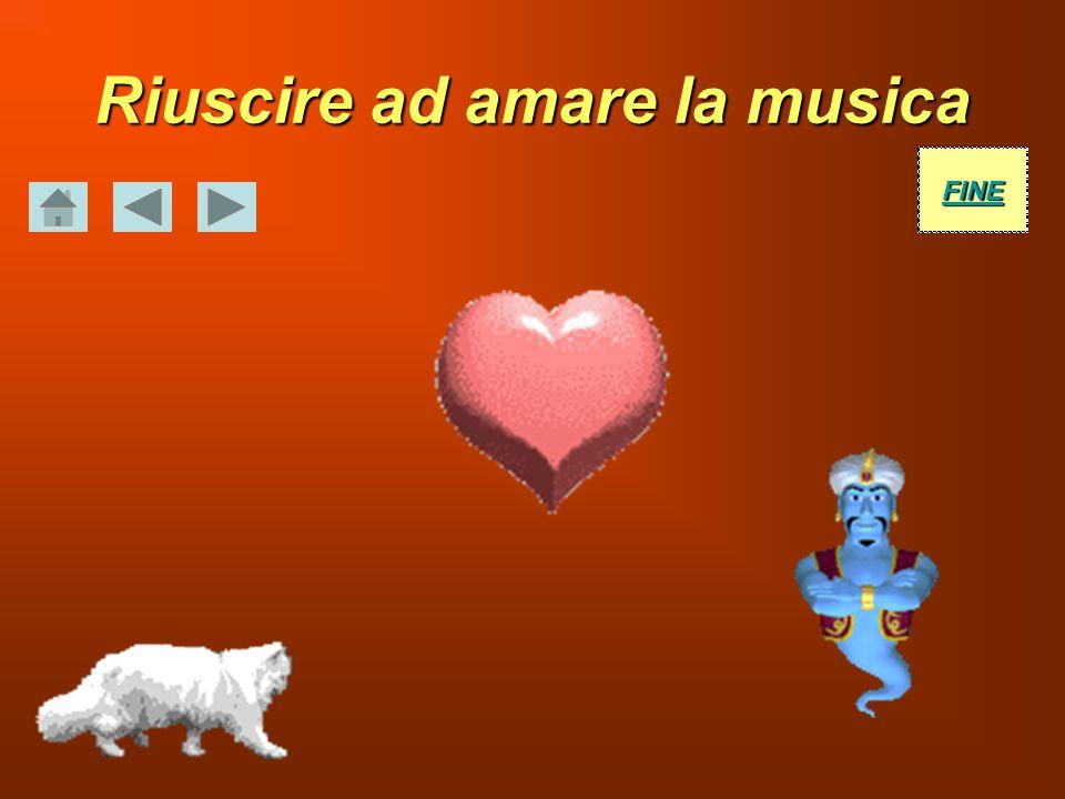 Riuscire ad amare la musica