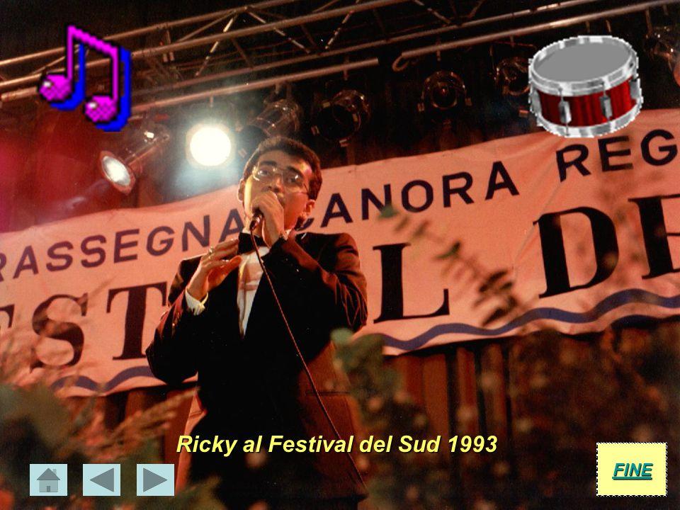 Ricky al Festival del Sud 1993
