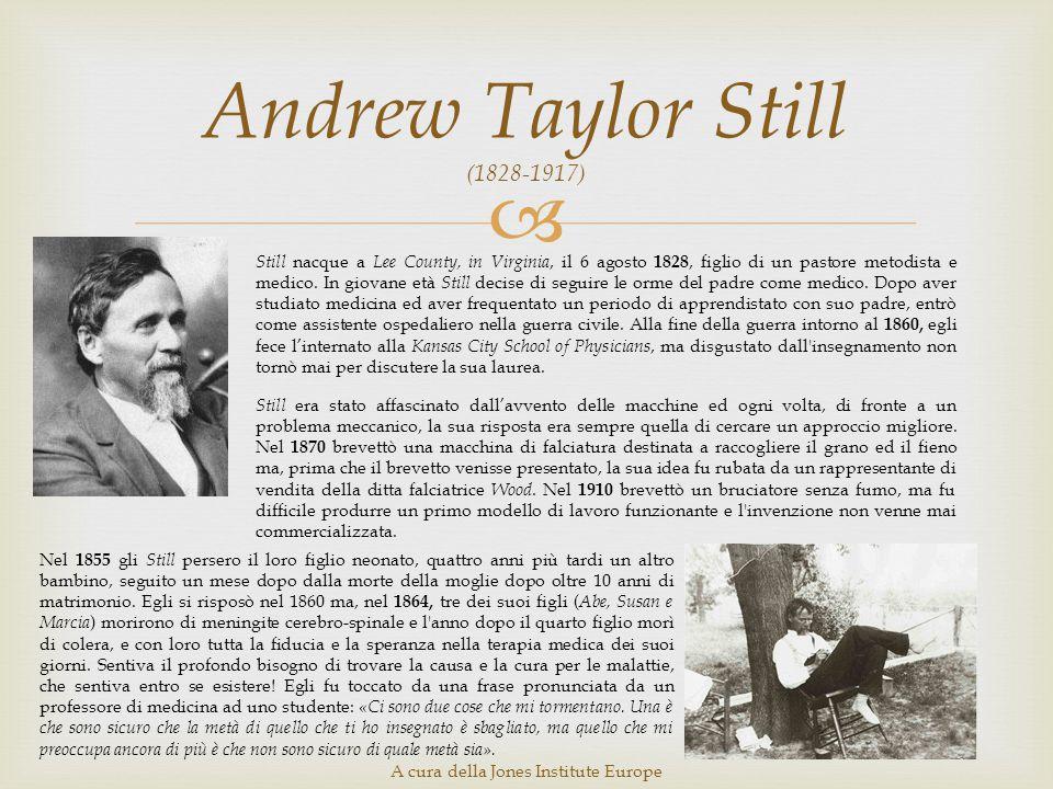 Andrew Taylor Still (1828-1917)