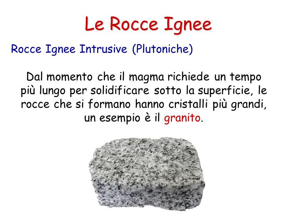 Le Rocce Ignee Rocce Ignee Intrusive (Plutoniche)