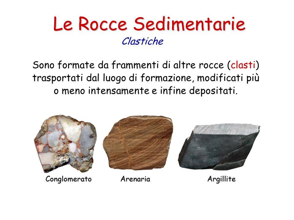 Le Rocce Sedimentarie Clastiche