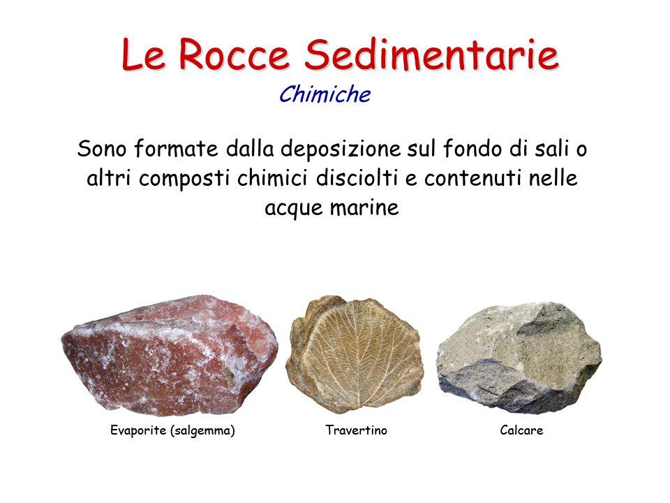 Le Rocce Sedimentarie Chimiche