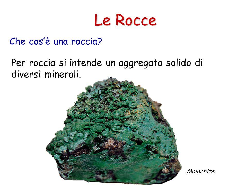 Le Rocce Che cos'è una roccia