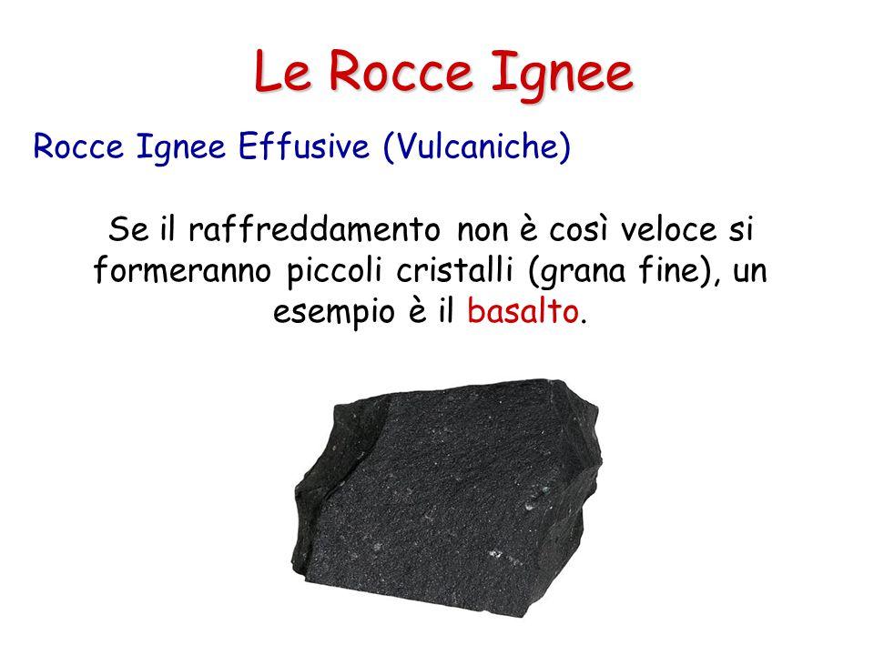 Le Rocce Ignee Rocce Ignee Effusive (Vulcaniche)