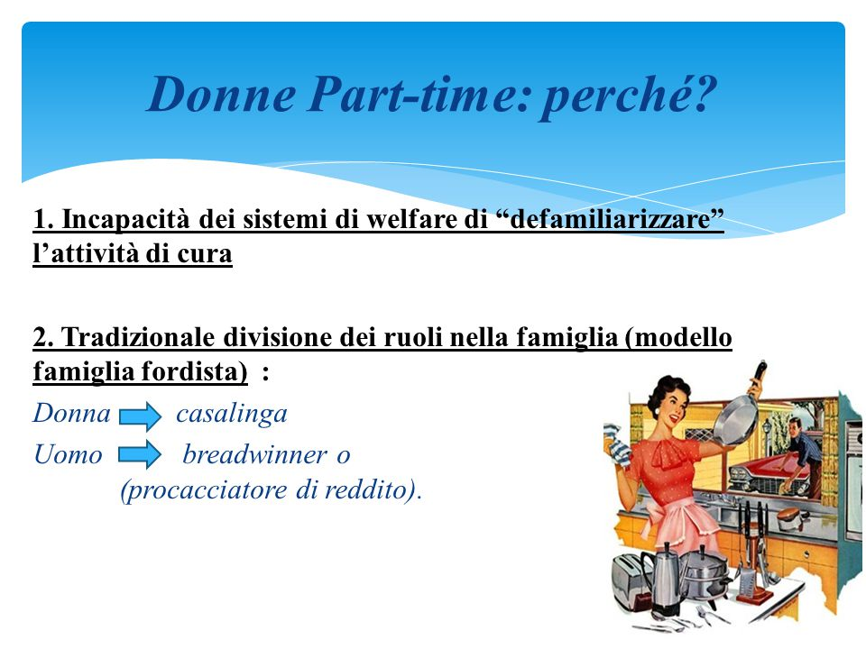 Donne Part-time: perché