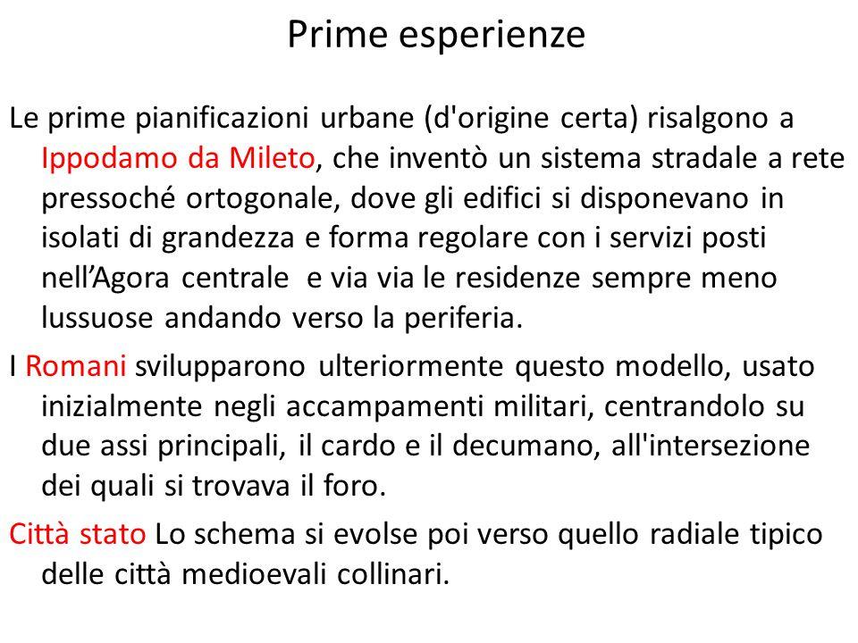 Prime esperienze