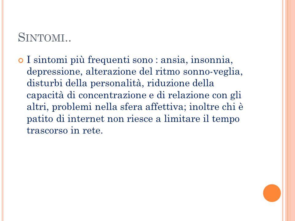 Sintomi..