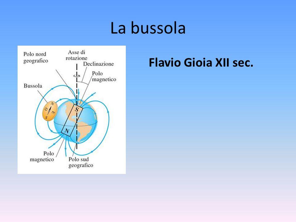 La bussola Flavio Gioia XII sec.