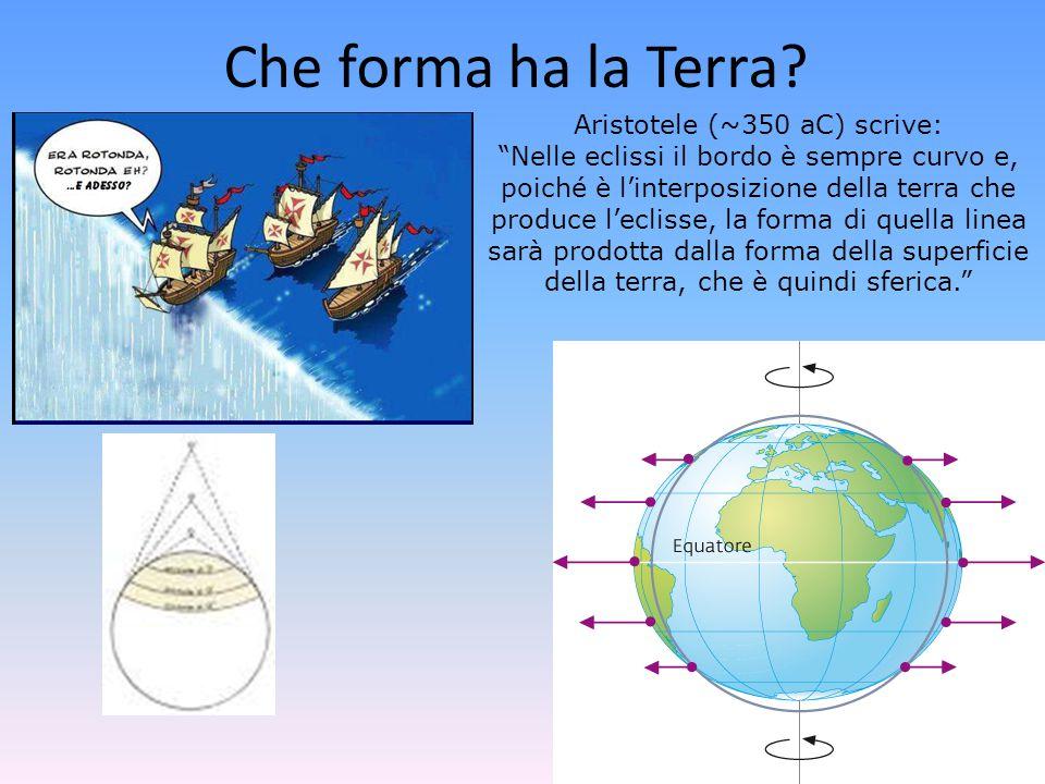 Che forma ha la Terra