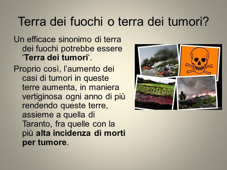 Terra dei fuochi o terra dei tumori
