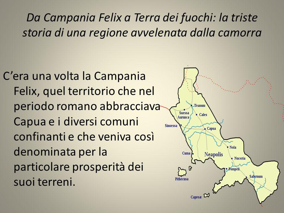 Da Campania Felix a Terra dei fuochi: la triste storia di una regione avvelenata dalla camorra