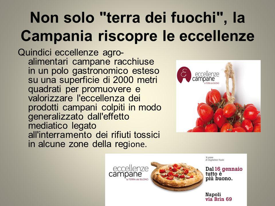Non solo terra dei fuochi , la Campania riscopre le eccellenze