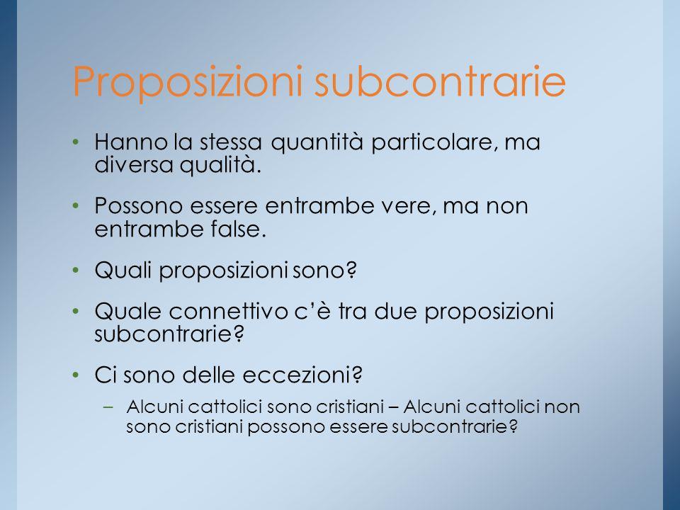 Proposizioni subcontrarie
