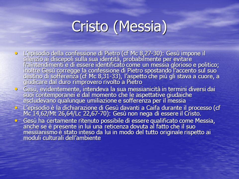 Cristo (Messia)