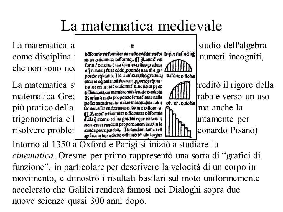 La matematica medievale