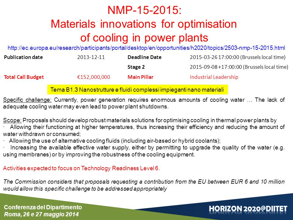 Materials innovations for optimisation of cooling in power plants