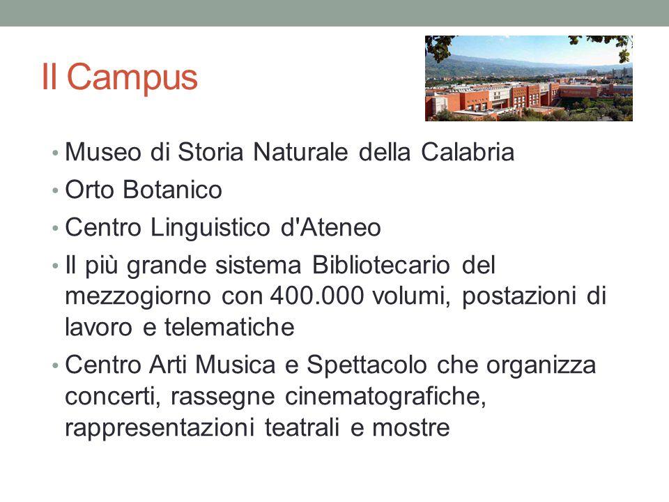 Il Campus Museo di Storia Naturale della Calabria Orto Botanico