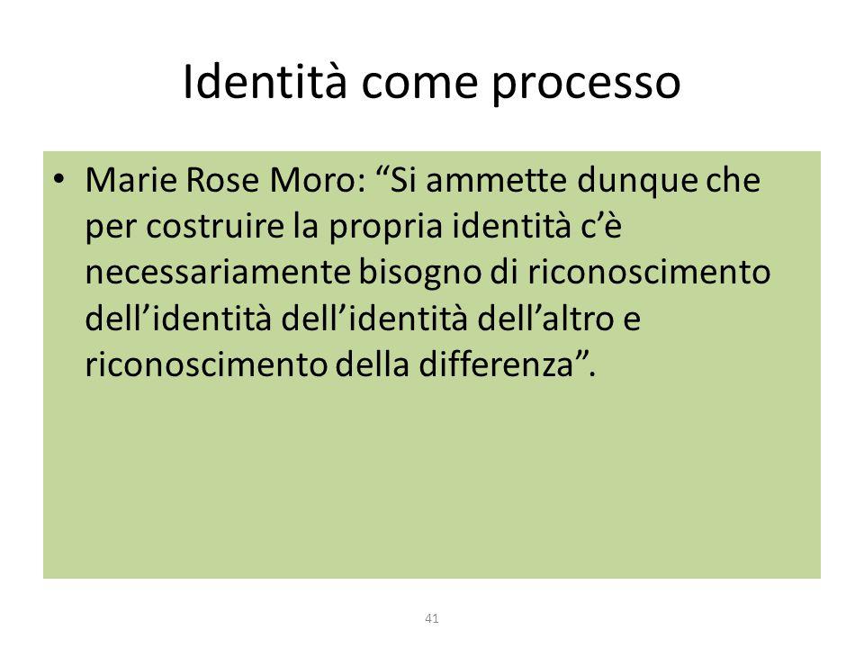 Identità come processo