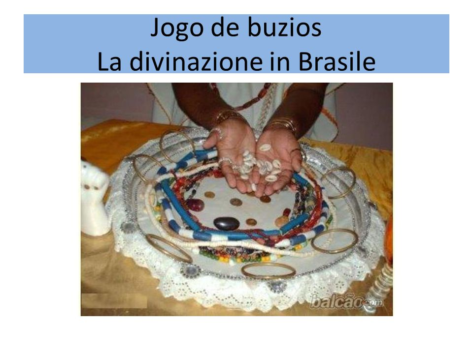 Jogo de buzios La divinazione in Brasile
