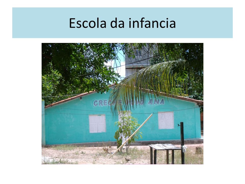 Escola da infancia