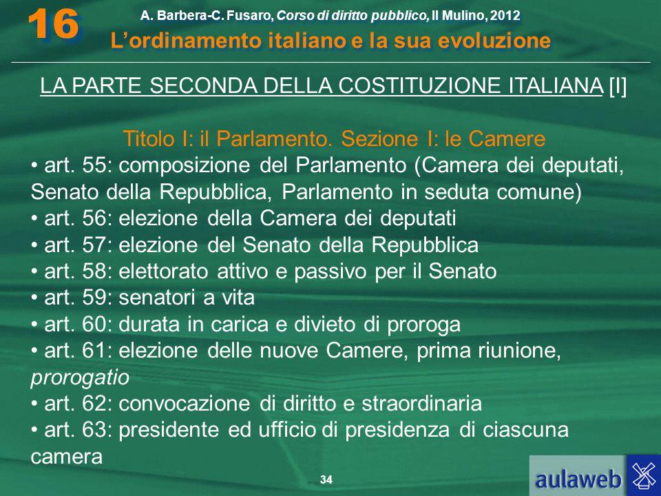 16 l ordinamento italiano e la sua evoluzione ppt scaricare for Composizione camera dei deputati