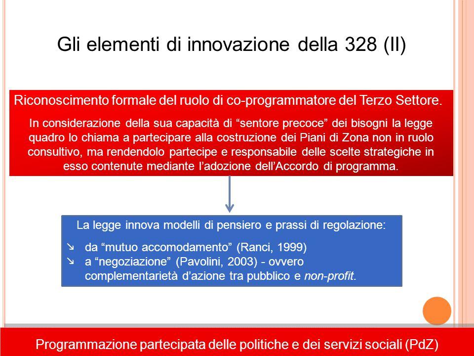 Gli elementi di innovazione della 328 (II)