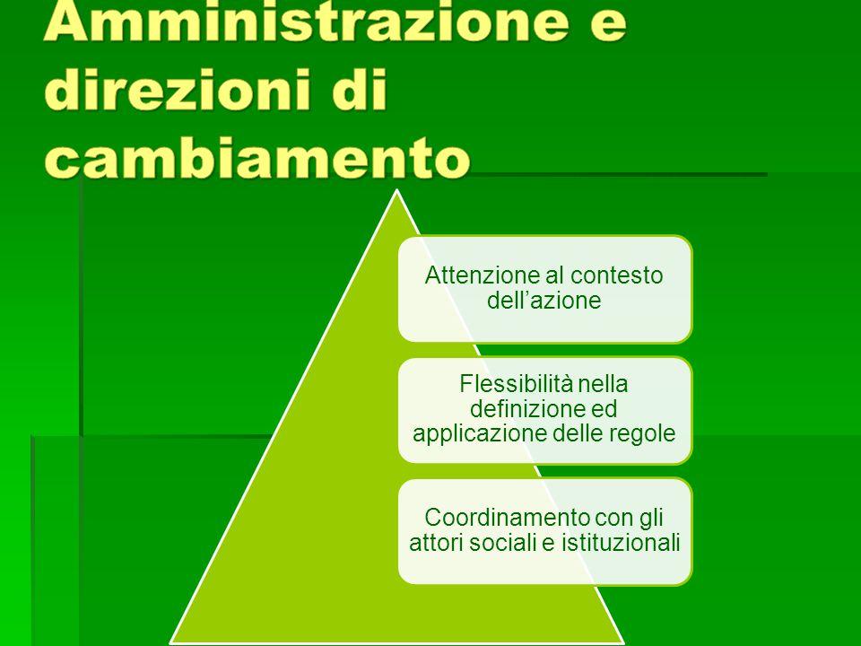 Pubblica Amministrazione e direzioni di cambiamento