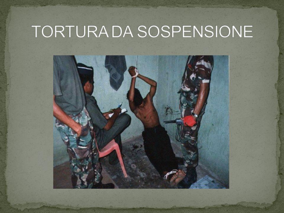 TORTURA DA SOSPENSIONE