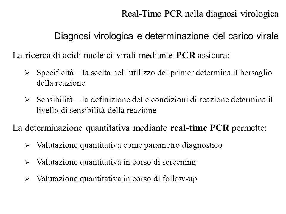Real-Time PCR nella diagnosi virologica