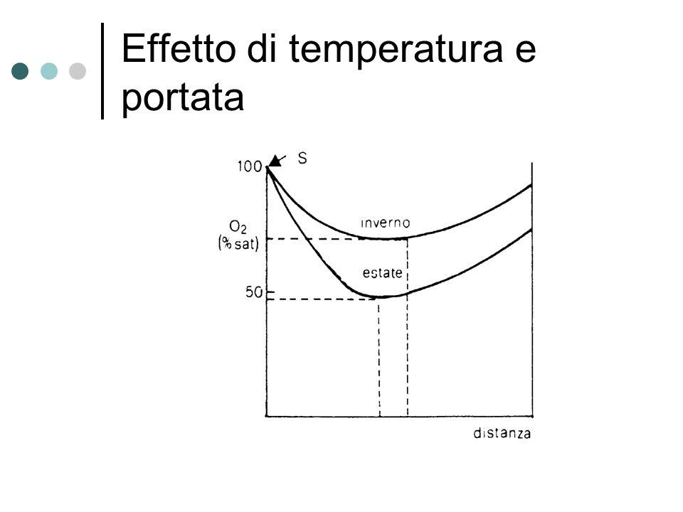 Effetto di temperatura e portata
