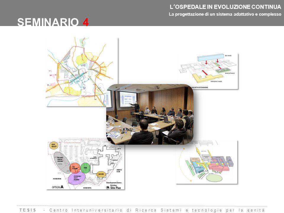 SEMINARIO 4 L'OSPEDALE IN EVOLUZIONE CONTINUA