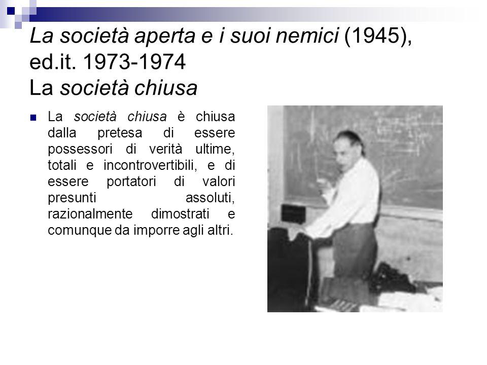 La società aperta e i suoi nemici (1945), ed. it