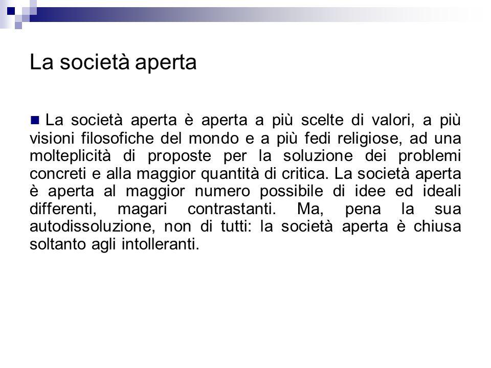 La società aperta