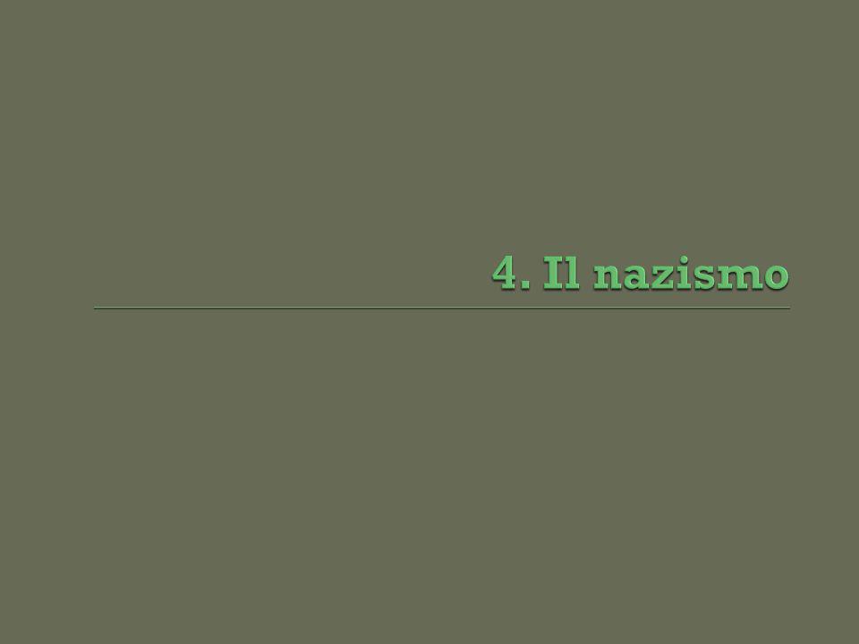 4. Il nazismo
