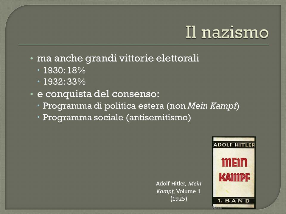 Adolf Hitler, Mein Kampf, Volume 1 (1925)