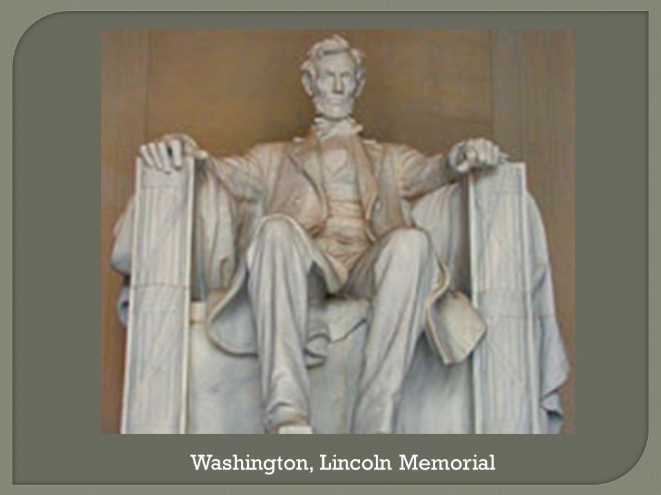 Washington, Lincoln Memorial