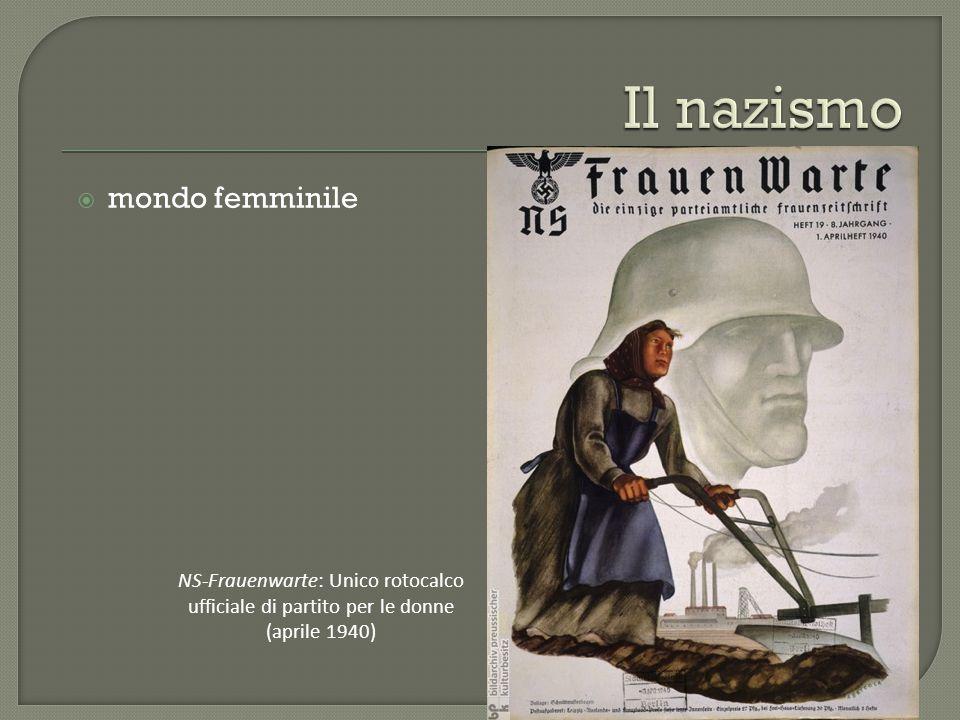 Il nazismo mondo femminile