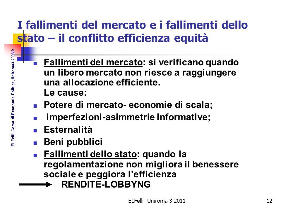 Le economie di scala Le economie di scala possono avere tre distinte cause: Indivisibilità (costo fisso);