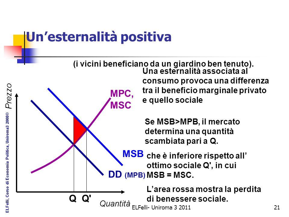 Soluzioni non iterventiste al problema delle esternalità