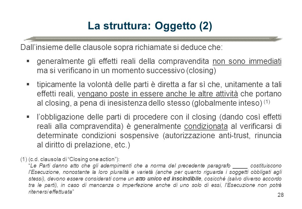 La struttura: Oggetto (2)