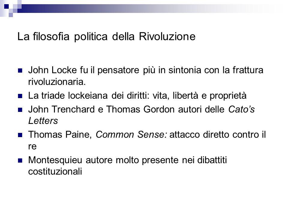 La filosofia politica della Rivoluzione