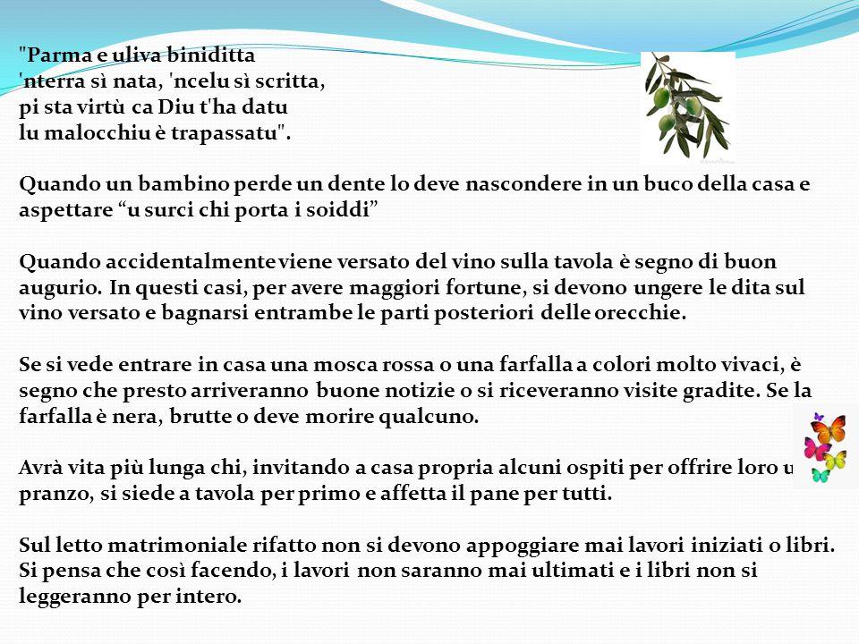 Parma e uliva biniditta