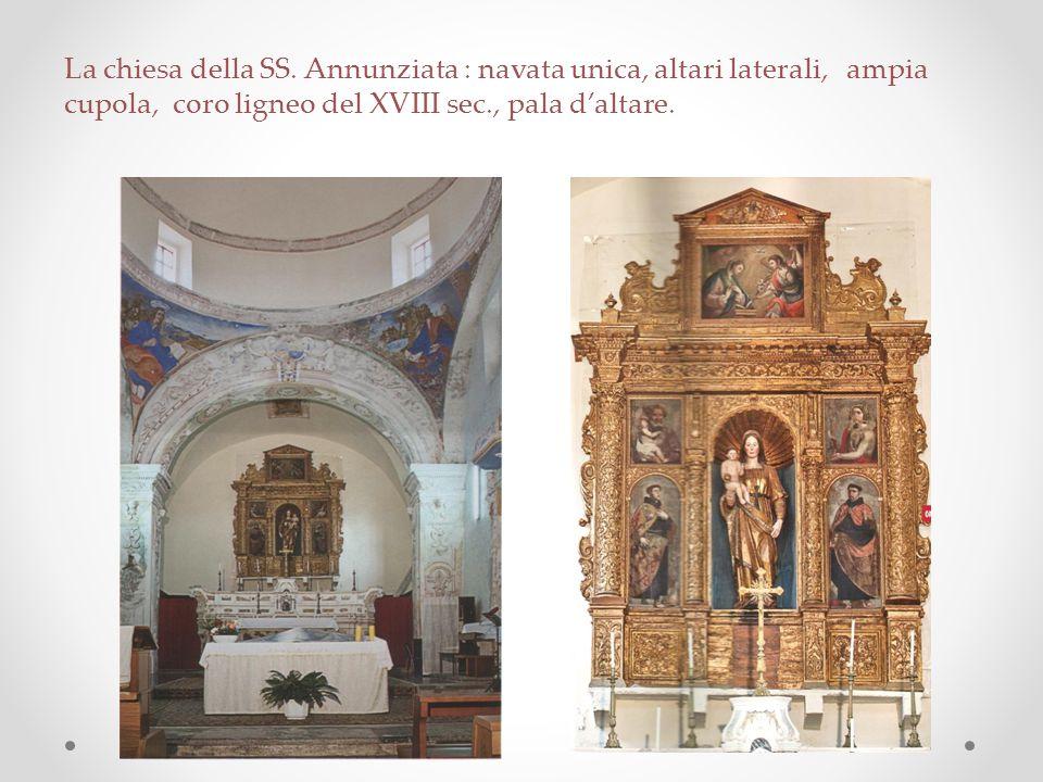 La chiesa della SS.