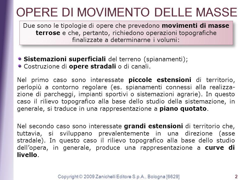 OPERE DI MOVIMENTO DELLE MASSE