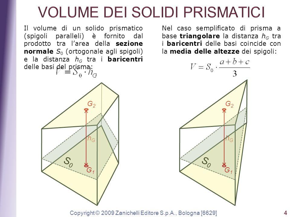 VOLUME DEI SOLIDI PRISMATICI