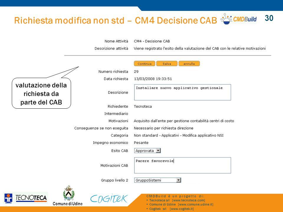 valutazione della richiesta da parte del CAB