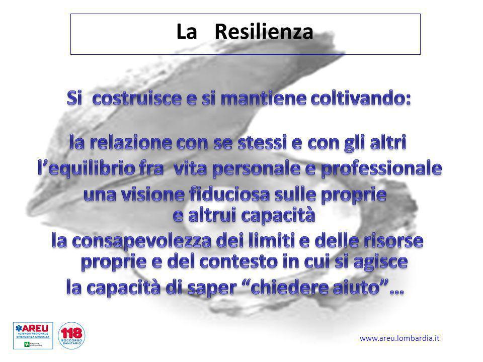 La Resilienza la relazione con se stessi e con gli altri